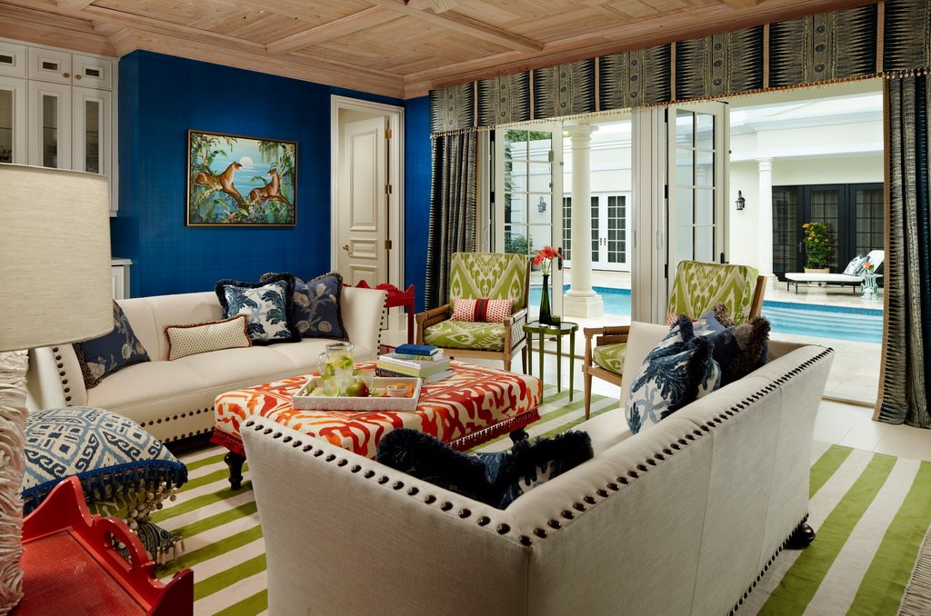 blue white red luxury living room decor,coral inspired furniture,traditional living room styles,luxury villa design interior,blue wall in living room,