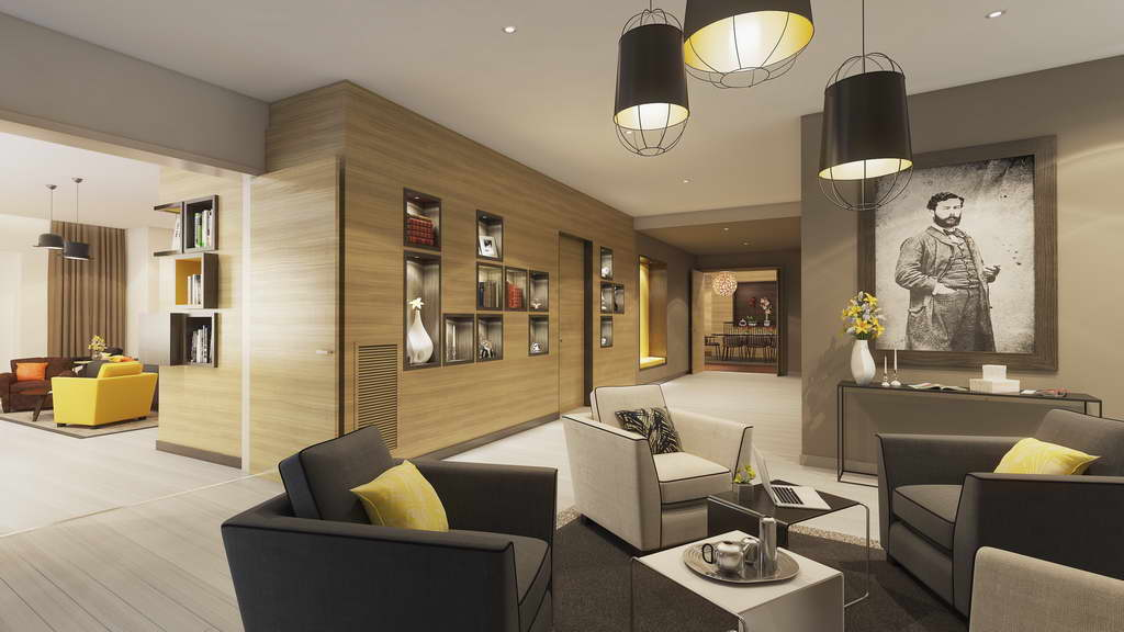 apartment building lobby design ideas,design living room ideas,gray and yellow living room,yellow and grey sofa cushions,office lobby design ideas,
