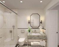 boutique hotel bathrooms,hotel room design,boutique hotel interior design,bespoke hotels,heritage hotel Zagreb,