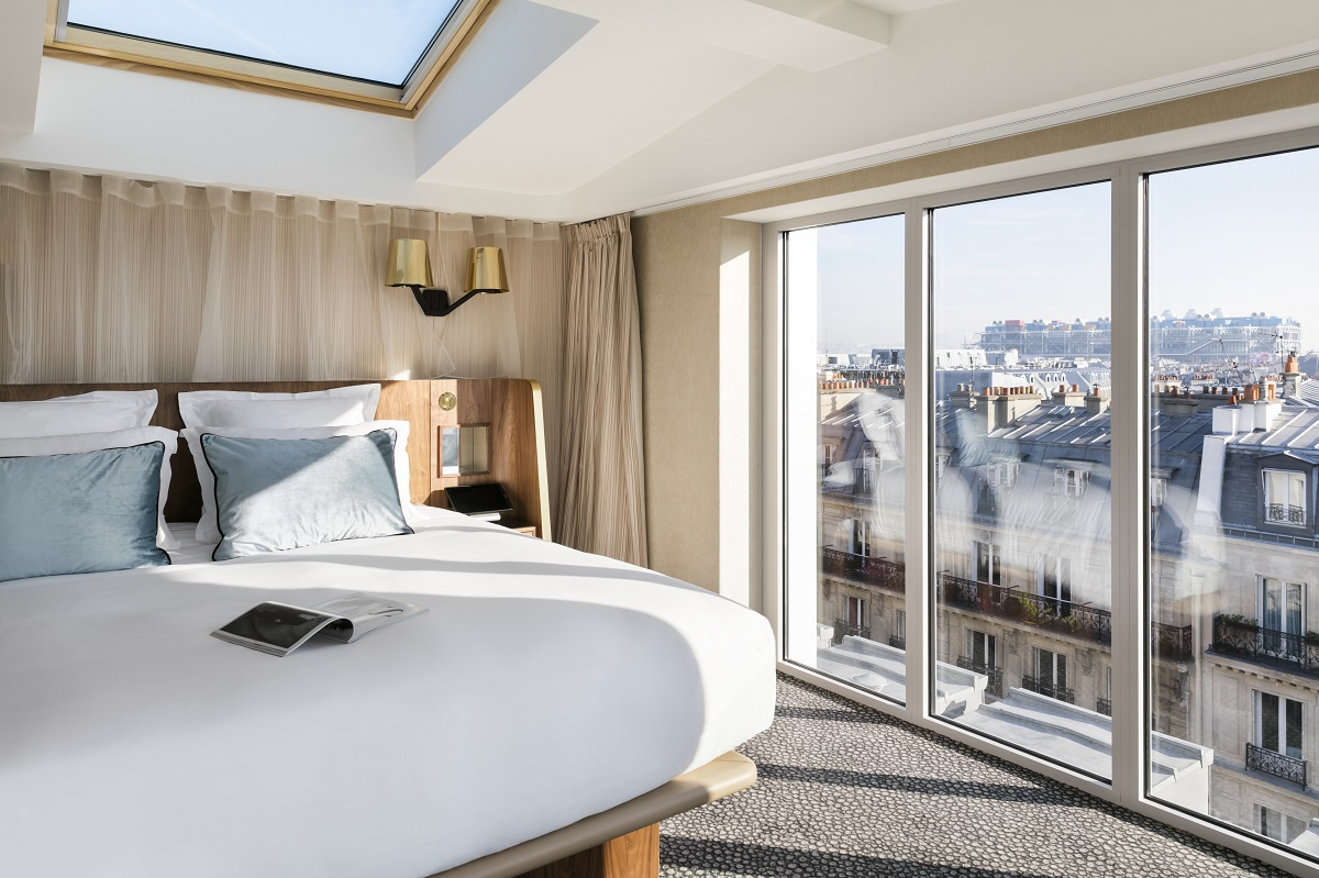 A view from the bedroom - Maison Albar Hotel Paris Céline