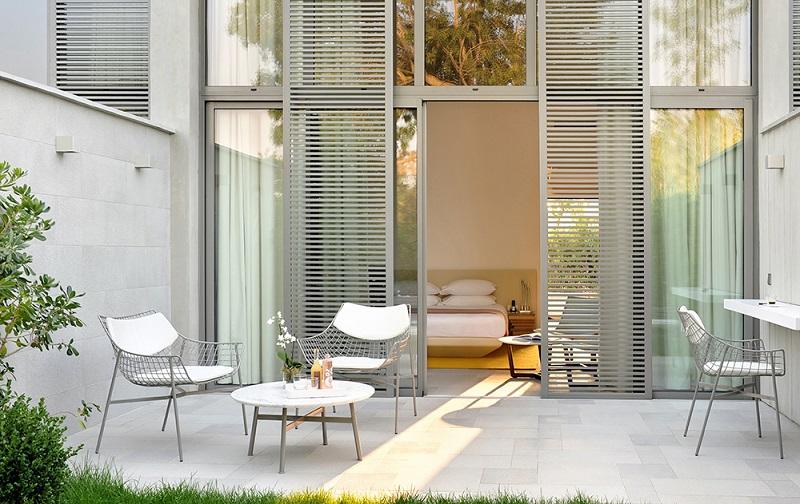 Hotel Sezz Saint-Tropez,Saint-Tropez,France,hospitality design,hospitality,hotel design,hotels,outdoor furniture,Varaschin,travel,travel ideas,travel inspiration,travel destinations