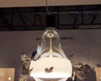 bulb shaped pendant light,butterfly decorations lighting ideas,creative lighting for dining room,designer lamp design,euroluce milan lighting fair,