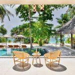 joali maldives beach villa with pool,kettal outdoor basket chair,best luxury resorts maldives,romantic holidays for couples,most romantic honeymoon destinations,