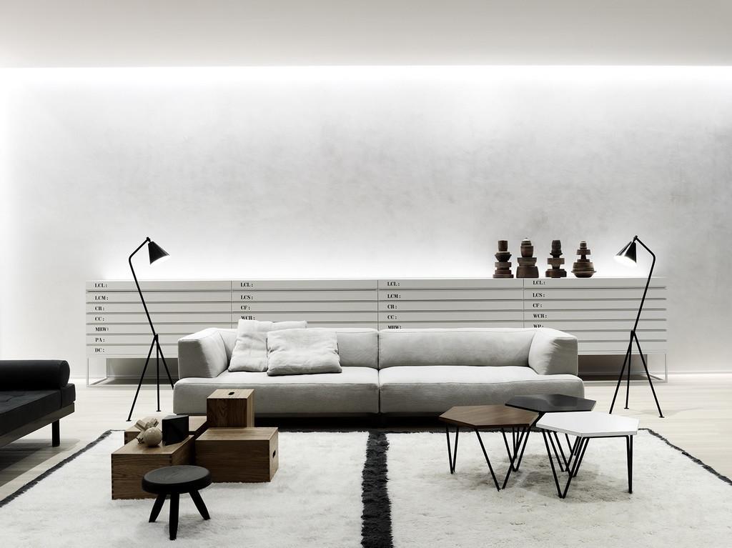 total white loft by kerakoll design house archi. Black Bedroom Furniture Sets. Home Design Ideas