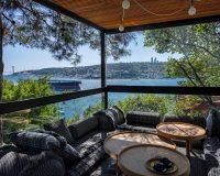 outdoor furniture ideas photos,ofist design studio,terrace with sea view,terrace design in istanbul turkey,best view of bosphorus,