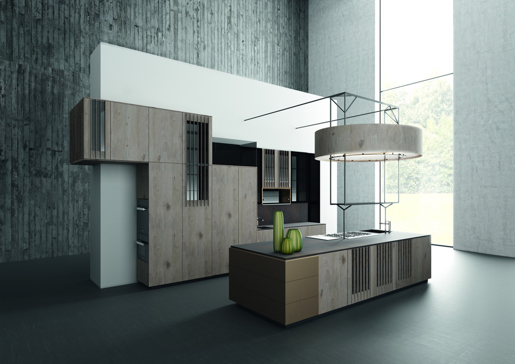 Design Of The Kitchen U2013 Variety Of Colours And Materials In The Kitchen:  The New Trend For Individualised Design