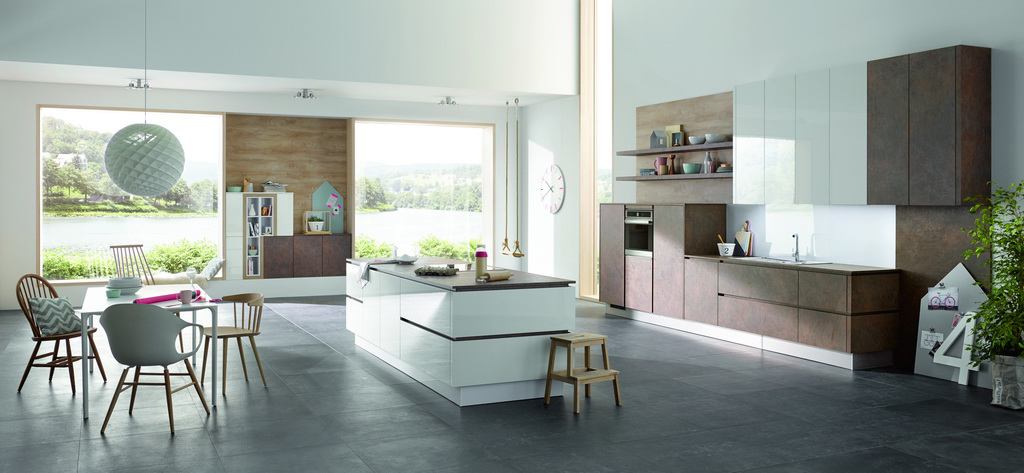 Trendy Kitchens Variety Of Colors And Materials Archi Living Com