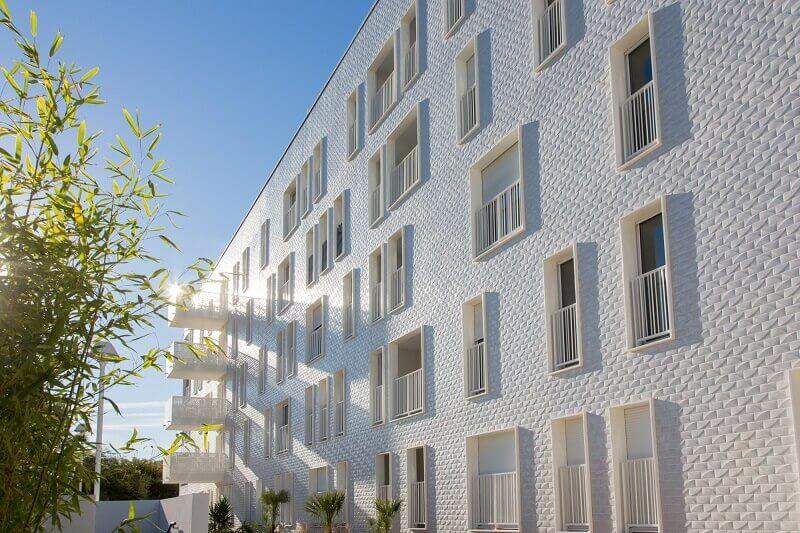 residential architecture design,italian porcelain tile manufacturers,facade design architecture,architectural projects in france,porcelain tile facade design ideas,