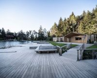 south tyrol architecture,recreational facilities design,noa network of architecture design,lake house architecture designs,völser weiher lake house,