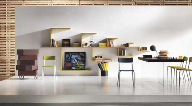 Creative children 39 s shelves archi for Libreria lago linea