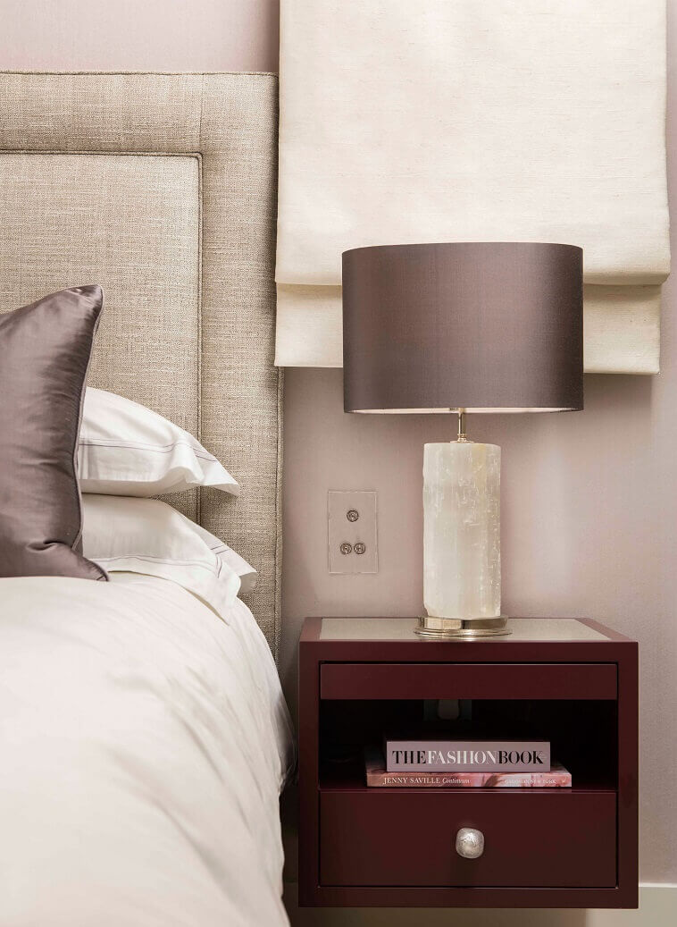 gray white bedside lamp,beige grey white bedroom,bedroom ideas with upholstered beds,luxury master bedroom design,luxury interior designers london,