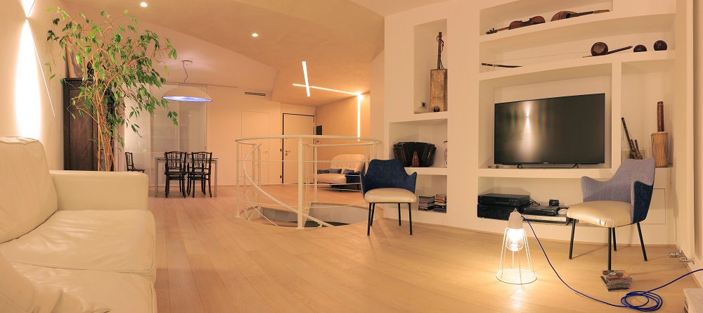 Living Room Ideas, Kitchen, Interior Design Ideas, Dining Room Design, AreaNova Architecture Workshop, Design Project, Rizzi Scale, Nature Design
