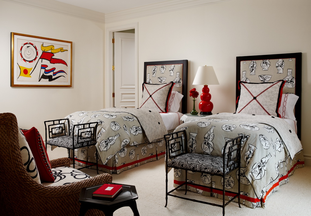 modern chinoiserie decor,oriental inspired bedroom furniture,nautical themed bedroom decor,guest room design ideas,small guest room decor ideas,