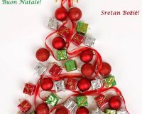 merry Christmas card,creative Christmas tree decorating ideas,traditional Christmas table decoration ideas,red and green holiday ornaments,how designers decorate the table,