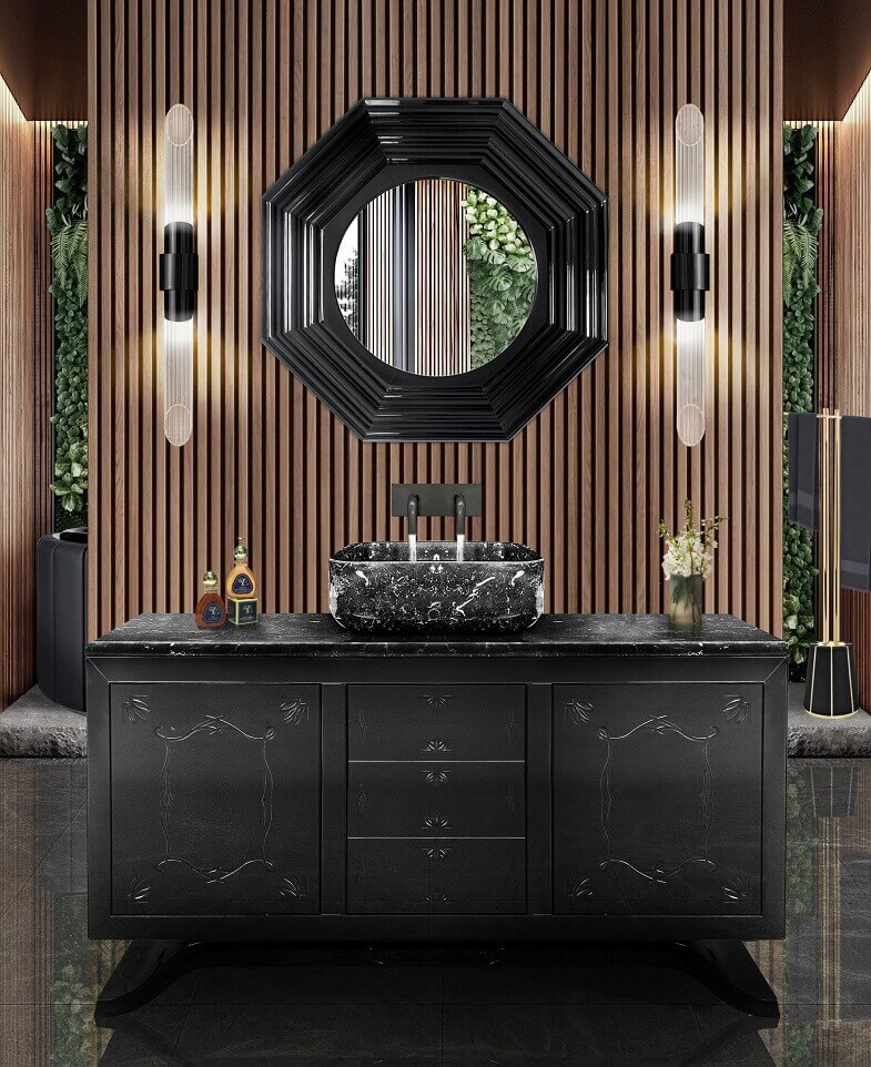 grey and black bathroom ideas,marble and wood modern bathroom,dark grey marble washbasin,marble bathroom furniture,luxury bathrooms marble,