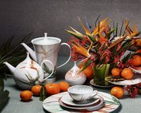 handmade tea set porcelain,tea set nature themed,porcelain tea set for adults,porcelain tableware manufacturers in europe,luxury tea set design,