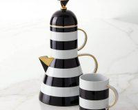 lighthouse themed tea tableware,porcelain tea set for adults,porcelain tableware manufacturers in europe,handmade tea set porcelain,lighthouse shaped tea teapot,
