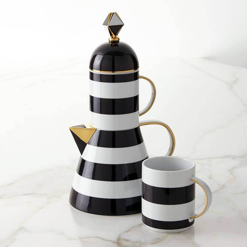 lighthouse shaped tea teapot,lighthouse themed tea tableware,porcelain tea set for adults,porcelain tableware manufacturers in europe,handmade tea set porcelain,