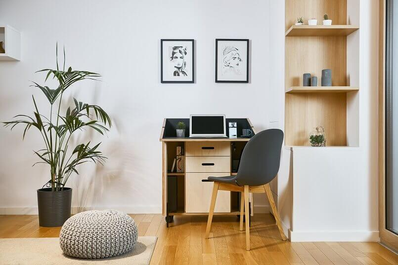 innovative home office ideas,awarded home office ideas,german design council iconic awards,modern mobile office furniture,ured kod kuce,