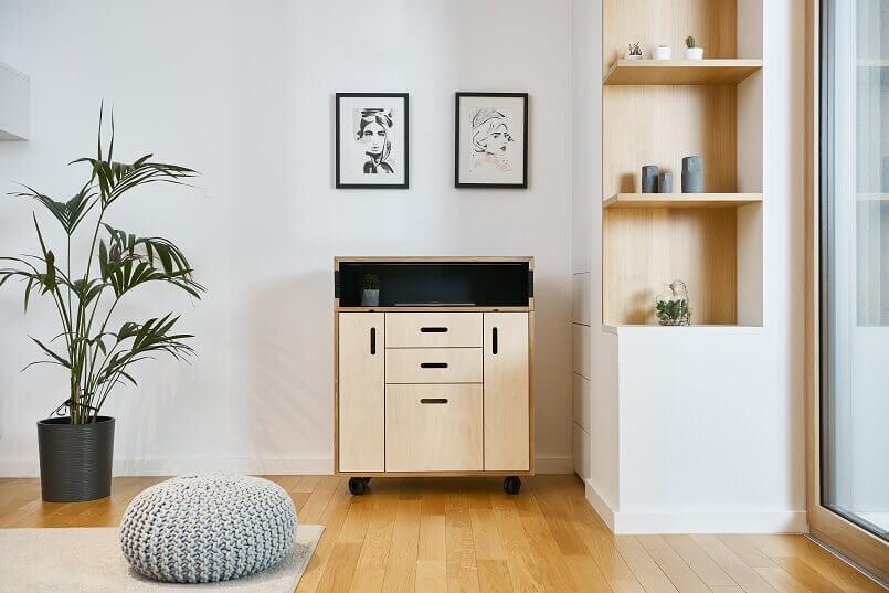 awarded mobile office home ideas,german design council awards,rad od kuce namjestaj,workspace design furniture,innovative home office desk ideas,
