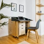 workspace design furniture,innovative home office desk ideas,awarded mobile office home ideas,german design council awards,rad od kuce namjestaj,