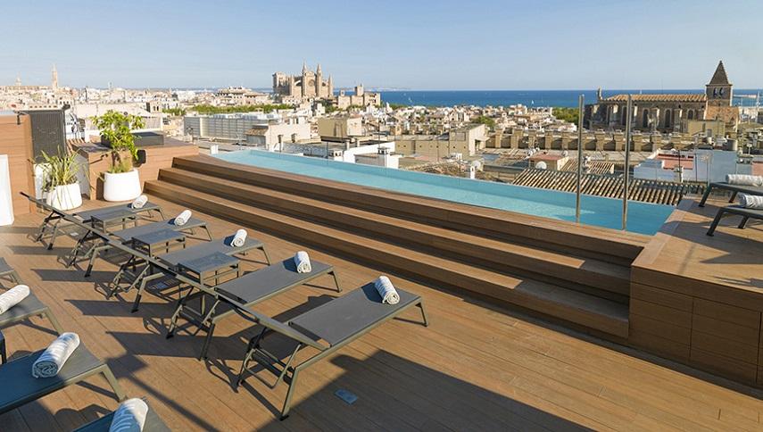 Nakar Hotel,Palma de Mallorca,Spain,hospitality design,hospitality,hotel design,hotels, outdoor furniture,Varaschin,travel,travel ideas,travel inspiration,travel destinations