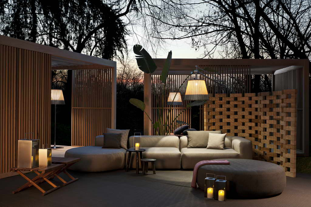 Be Trendy Lounge In The Garden Archi Living Com