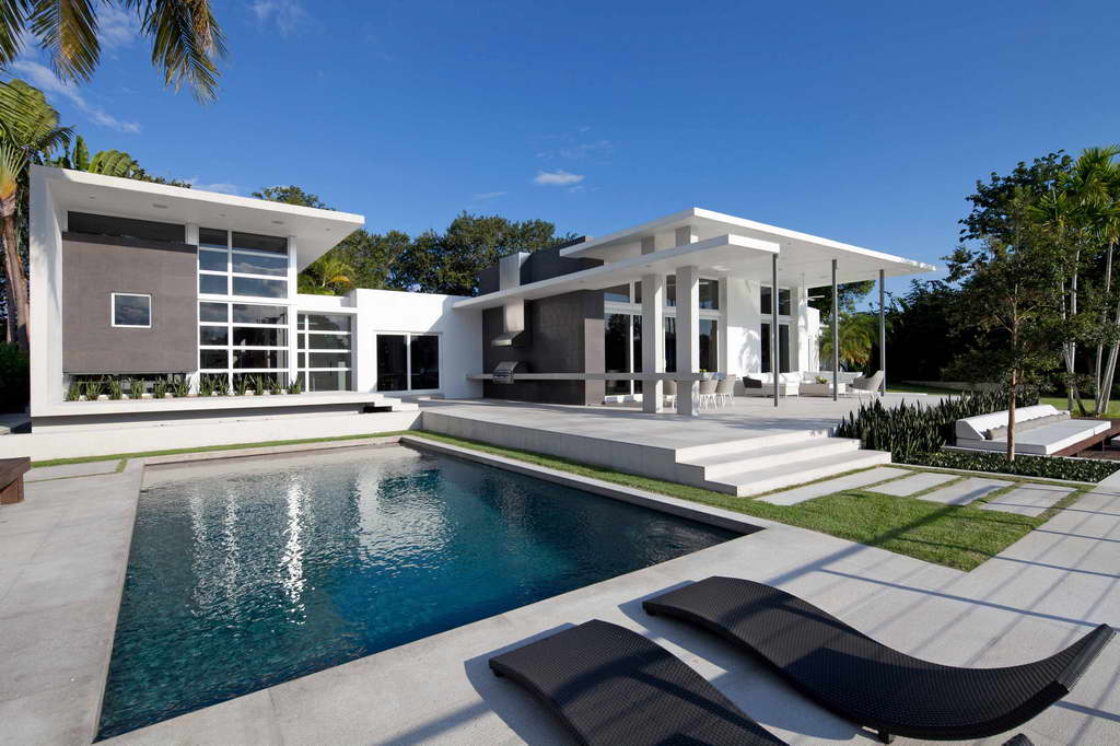 luxury house with pool,modern architecture projects,architects miami florida,KZ Architecture,contemporary design ideas,