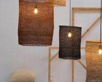 organic lighting fixtures,organic lamp design,lamps made from natural materials,environmentally friendly products for home,eco light luce design,
