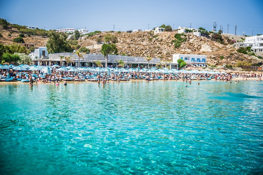 Nammos Mykonos Greece Psarou Beach Beaches In Sandy