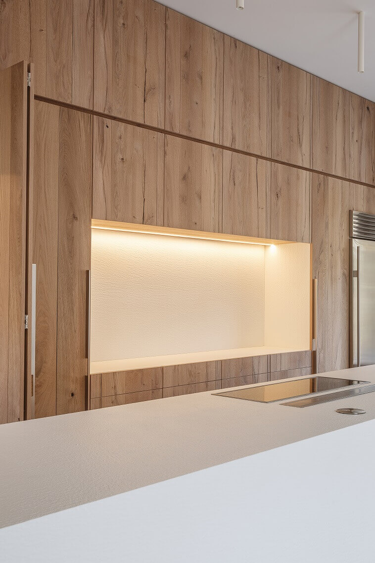 wood panel walls decorating ideas,kitchen design white and wood,kitchen design project in korea,white kitchen island ideas,lapitec countertops,