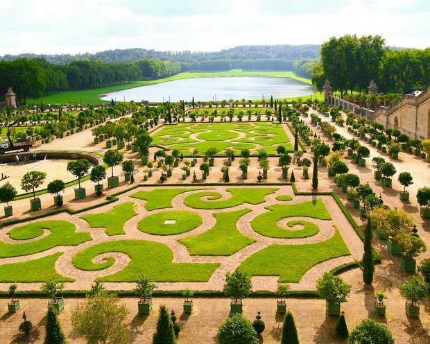 Gardens And Park Of The Palace Of Versailles Archi