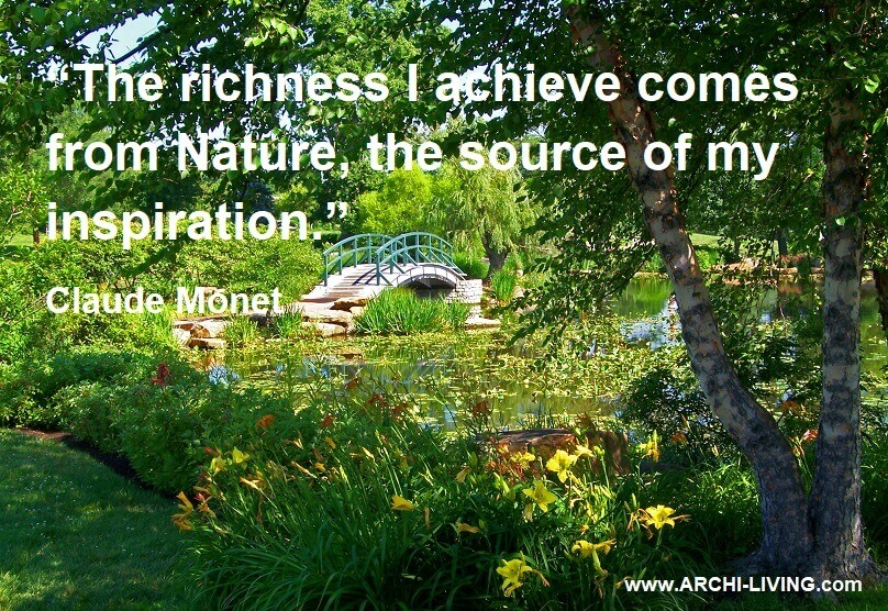 photo quotes about nature,quotes by famous artist,claude monet quotes about nature,inspired by nature quotes,park in spring photos,