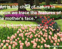 henry wadsworth longfellow famous quotes,quote about nature and art,photography quotes flowers,keukenhof tulip gardens,quotes by famous authors,