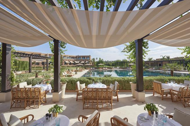 The New Mandarin Oriental Hotel In Marrakech Archi
