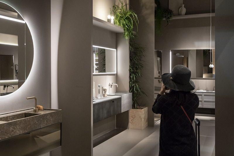 Nature design,bathroom plants,bathroom greenery,bathroom,bathroom decor,bathroom ideas,luxury bathrooms,luxury bathroom designs,designer bathroom,bathroom furniture,bathroom sink,bathroom vanities,bathroom storage units,bathroom interior,washbasin,bathroom showers,shower,spa design,spa design ideas,modern spa design ideas,modern spa design,luxury spa,luxury spa design,design spa,spa designers,spa decor,spa decor ideas,wellness,wellness design,hotel spa,hotel spa design,hotel spa wellness,hotels bath,lighting design,ambient light,hospitality design,hospitality,hotel design,hotels,interior design,interior decorating,interior design ideas,Salone del Mobile.Milano,International Bathroom Exhibition,Fiera Milano,Milano,Milan,Italy,design trends,design news,design trade show,design fair,design event,event,design inspiration,design ideas,product collection,designer,designers,young designers,