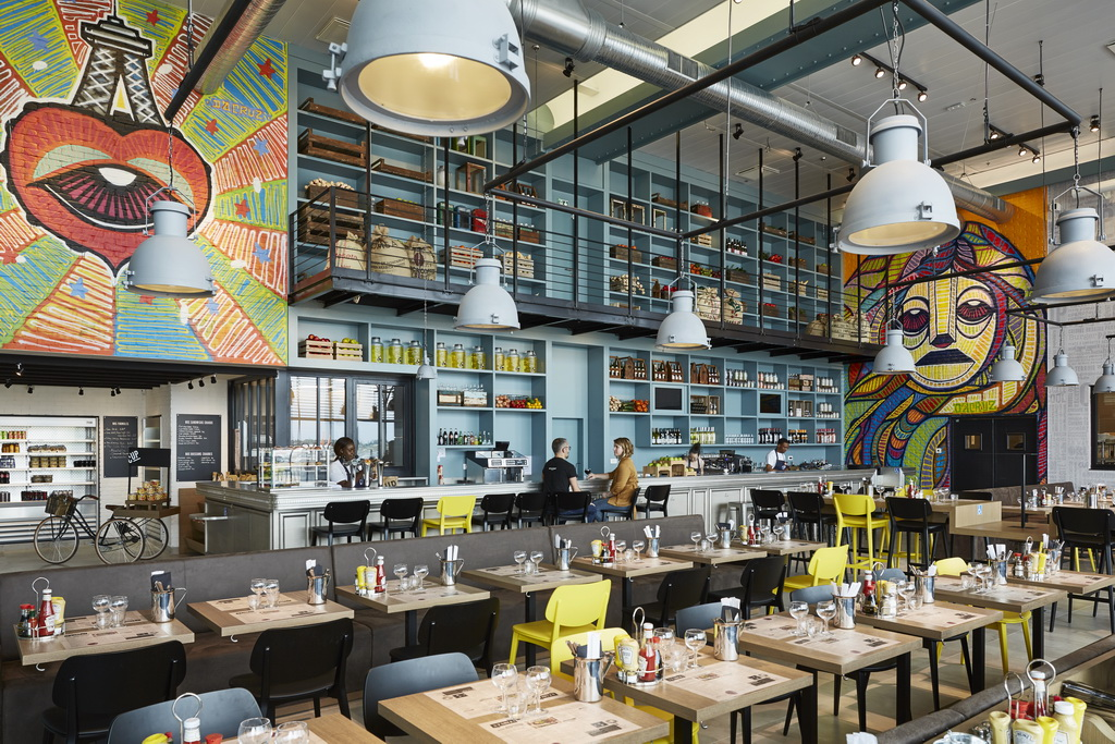 Cup Restaurant By Studio Mhna In Orly International