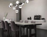 peggy futura' chandelier by vistosi,modern chandelier for dining room,luxury chandelier dining room,top italian lighting brands,designer chandelier lighting,