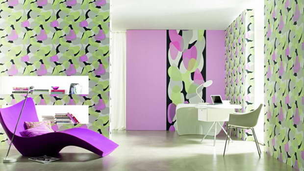 Not Just With Designs But Combinations Of Materials And Colours New Techniques As Well Thus Turning The Wall Into An Individual Designer Item