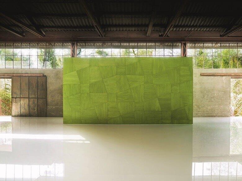 wood wall panels modern,green wooden wall panel,boiserie wall panels,paola lenti wall panel,boiserie legno verde,