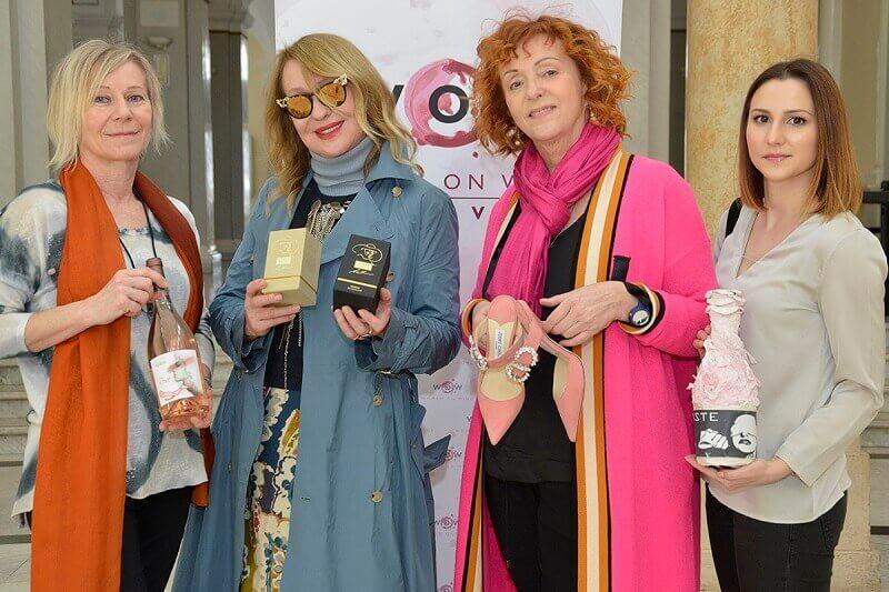 Vlasta Pirnat,Mirjana Brlecic,Sanja Muzaferija,Ela Ljubic,pink day zagreb međunarodni festival ružičastih vina,