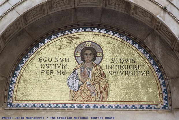 Porec,Croatia,cultural heritage of croatia,art heritage cities,porec croatia mosaics,
