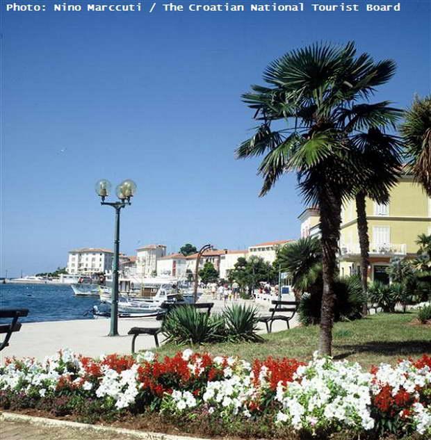 Porec,Croatia,croatia travel destinations,istria tourist attractions,parks in porec,