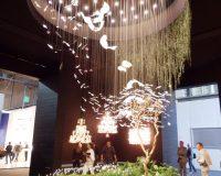 luxury brands lighting design,luxury chandeliers for hotel lobby,nature inspired lighting fixtures,euroluce lighting show,best chandeliers in the world,