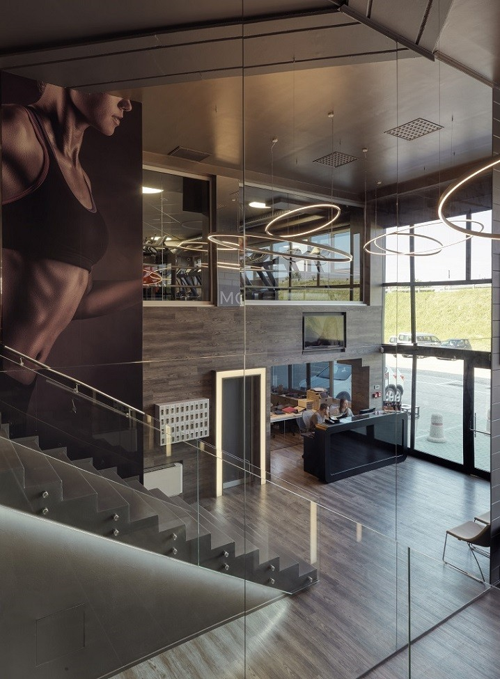 Fitness Center Interior Design Project By Elisabetta De