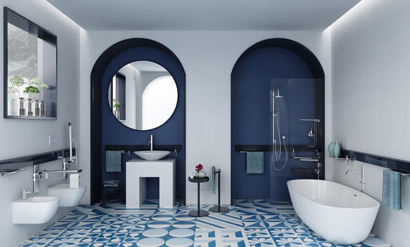 Flexible Customizable Bathroom Furniture Archi Living Com