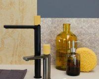 sahara yellow bath décor,yellow bathroom color ideas,yellow bathroom taps,sahara color palette bathroom ideas,yellow shower head,