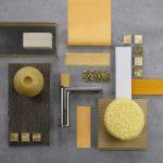 sahara yellow décor,yellow bathroom color schemes,yellow bathroom faucet,sahara color scheme ideas for bathrooms,sahara yellow shower head,