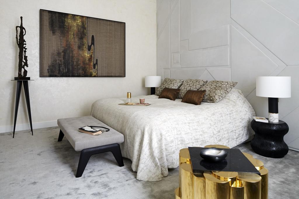luxury bedroom design,modern apartment design,luxury furniture,sophisticated paris home design,high end bed design,