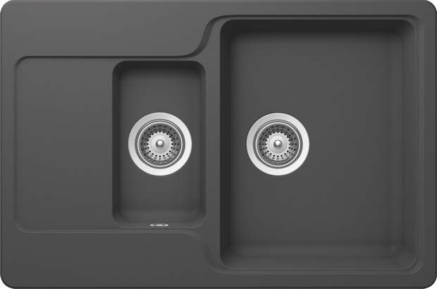 Concrete And Basalt Schock Rings In A New Sink Trend In Grey